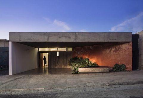 Property, Architecture, Sky, House, Building, Concrete, Home, Facade, Real estate, Landscape,