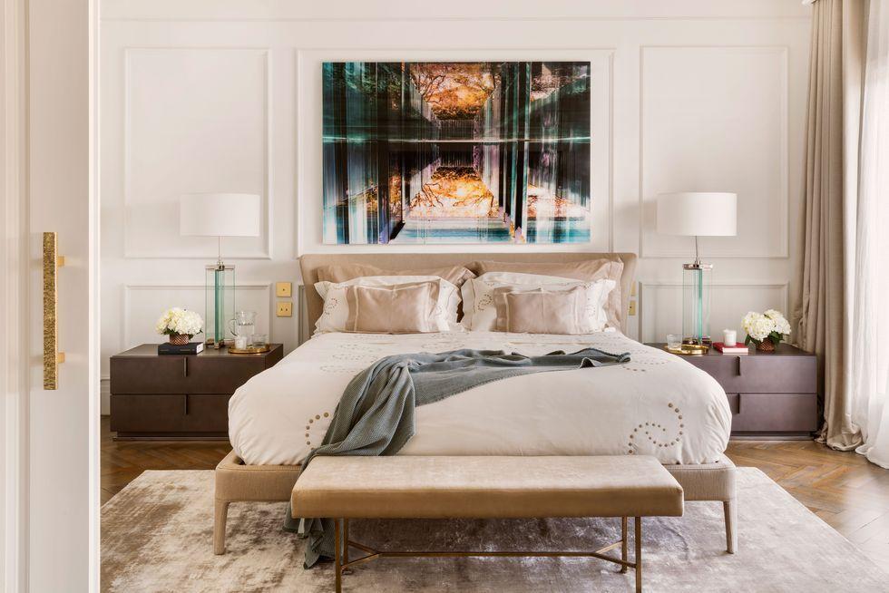 Dormitorios de estilo clásico para que te inspires