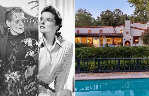 Casa de Katharine Hepburn y Boris Karloff en Los Ángeles