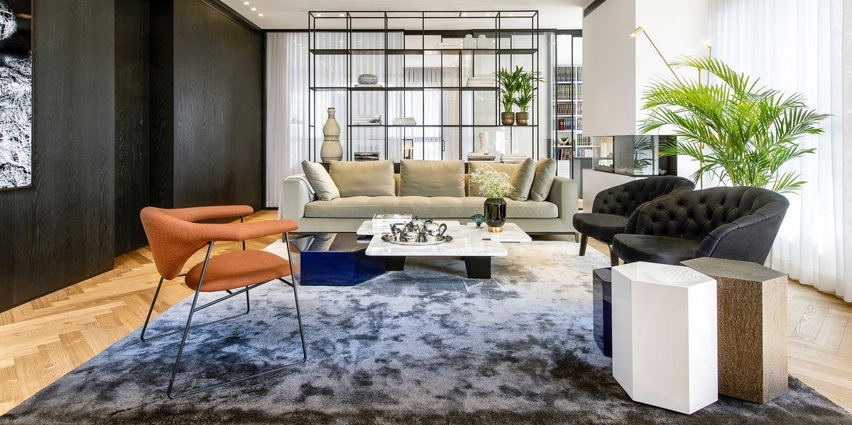 Cómo elegir el tamaño adecuado de alfombra para el salón