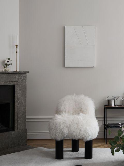 La casa de la interiorista Louise Liljencrantz en Estocolmo con estilo nordico elegante