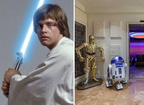 Casa de Luke Skywalker en Los Ángeles
