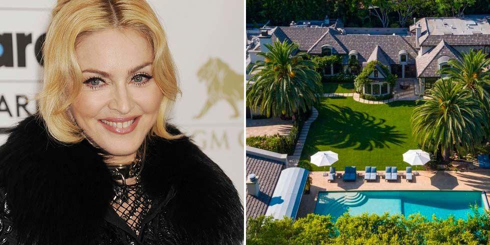 La casa de Madonna en Sunset Boulevard