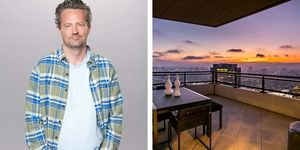 La casa de Matthew Perry, actor de Friends