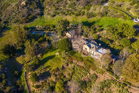Casa de Mel Gibson en Malibú