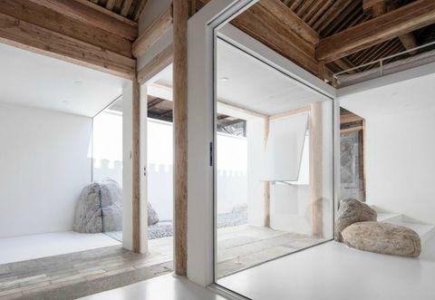 Design Di Interni Ed Esterni : La casa minimal a pechino di wonder architects