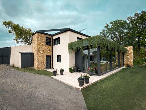 casa moderna de diseño sostenible