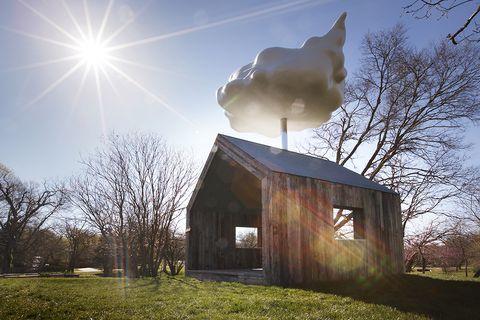 La casa nube: un sistema único de recolección de agua