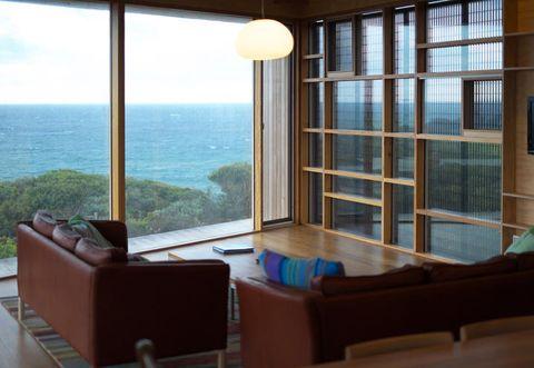 Casa per surfisti con vista oceano