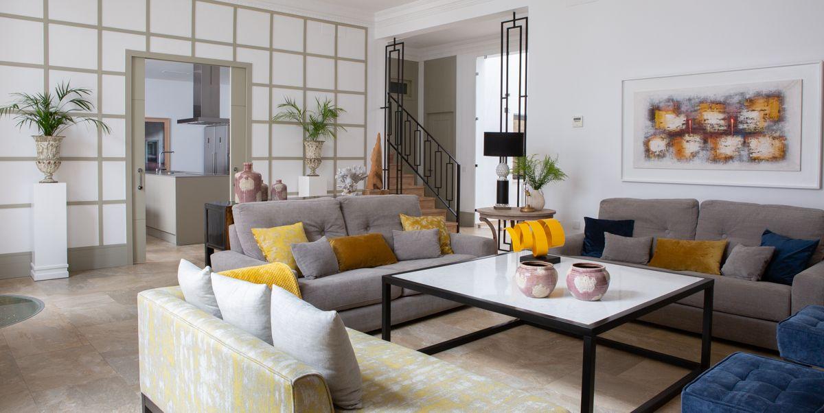 Casa diseñada por Elisa Íñiguez en Carmona