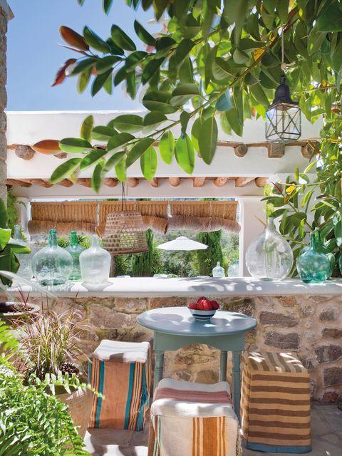 Una Casa Rural En Ibiza Decora Con, Long Island Outdoor Furniture Bohemia