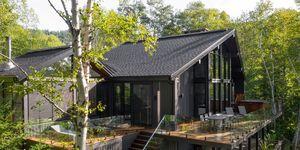 Casa junto al lago en Canadá arquitecto Cardin Julien