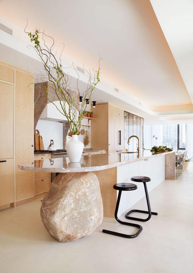 evolved living ha diseñado wellington una casa sostenible que busca el bienestar de quienes la habitan a través de materiales naturales, libres de químicos, introduciendo la naturaleza en la decoración, con formas orgánicas