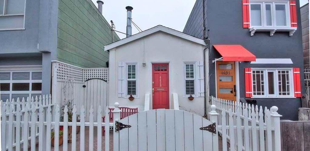 Casa pequeña en San Francisco: Fachada