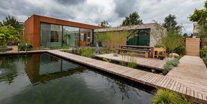 Casa de construcción sostenible en Utrecht