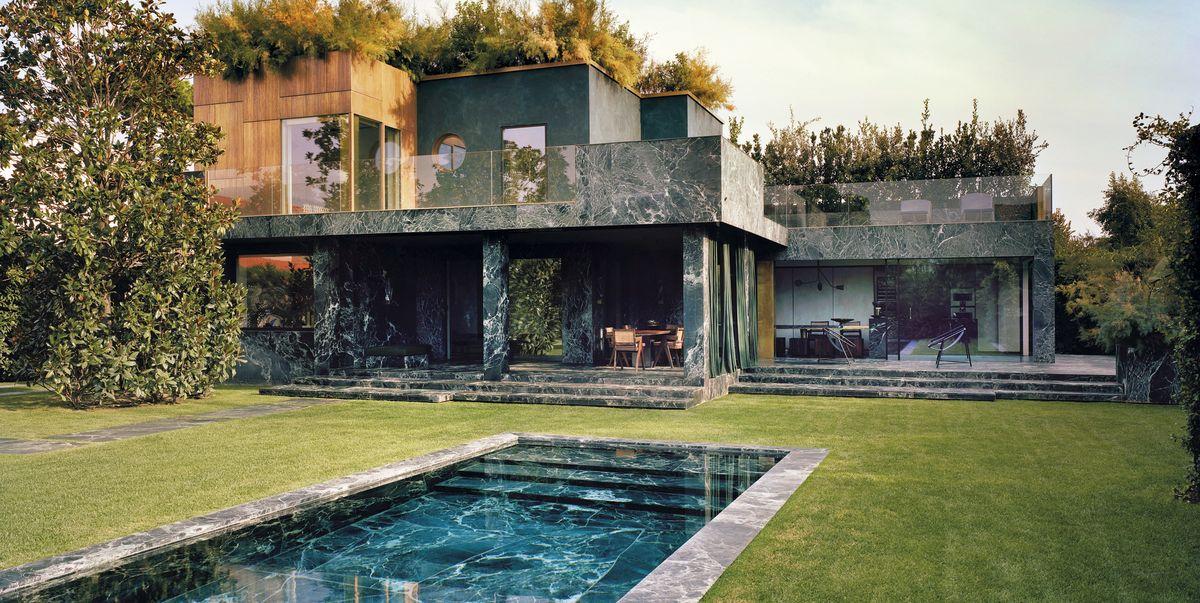 Una casa en la toscana reformada con m rmol verde por for La casa toscana tradizionale