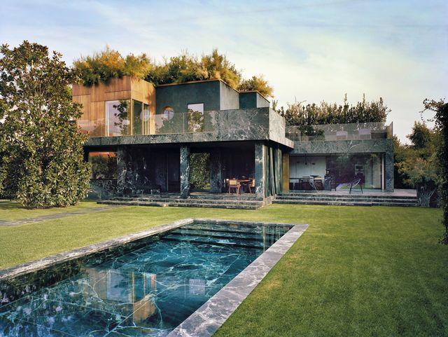 Una casa en la toscana reformada con m rmol verde por - La toscana casa rural ...