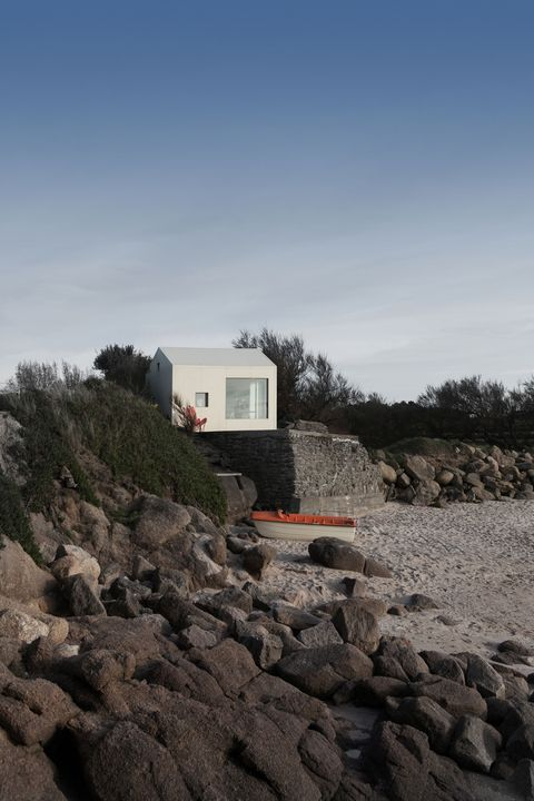Mini casa en Normandía junto a la playa