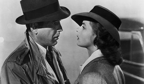 'casablanca' 1942, con ingrid bergman y humphrey bogart
