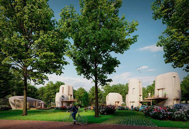 casas impresas en 3d eindhoven holanda