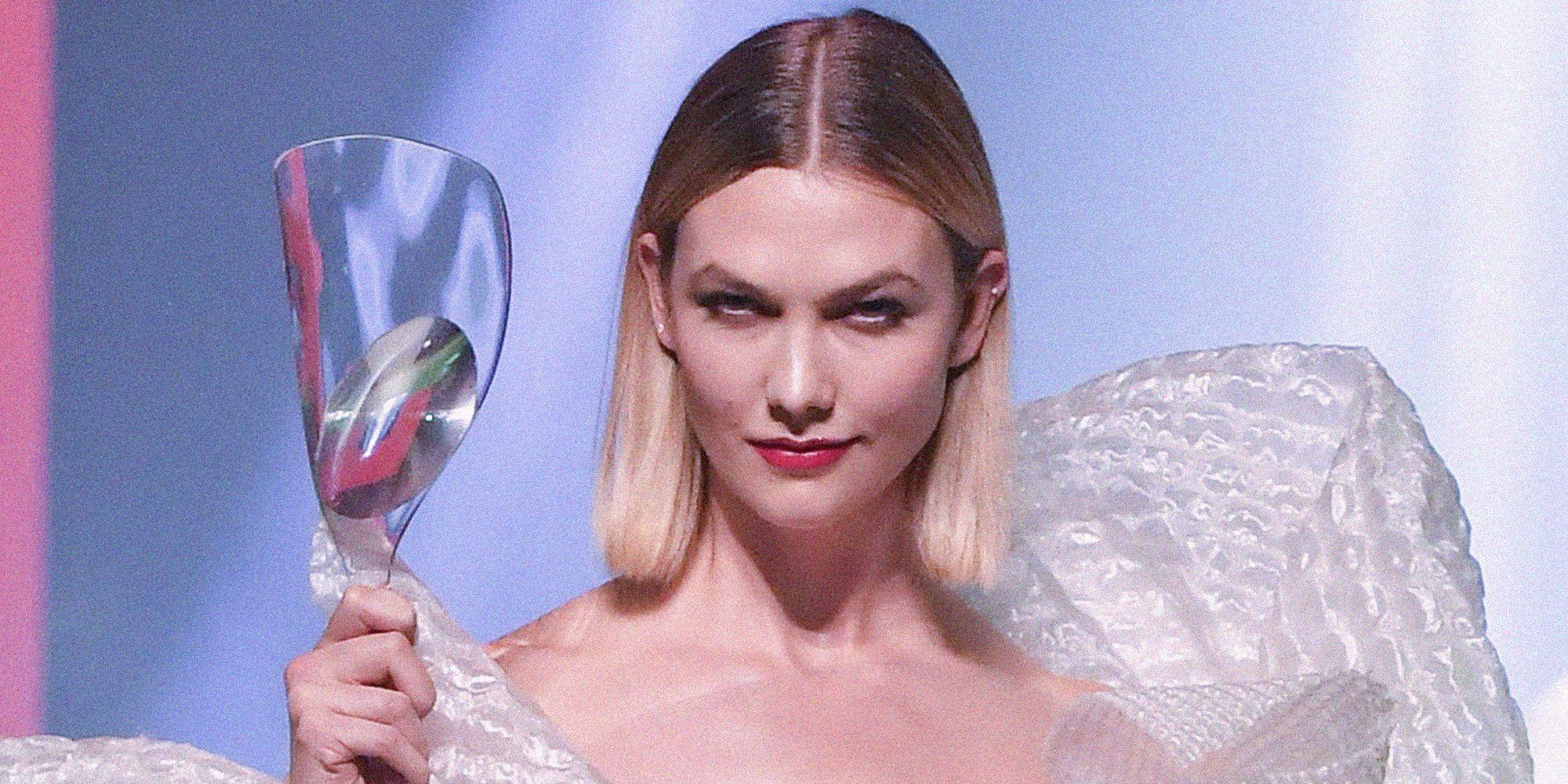 Caschetto Primavera Estate 2020 Il Taglio Medio Di Karlie Kloss