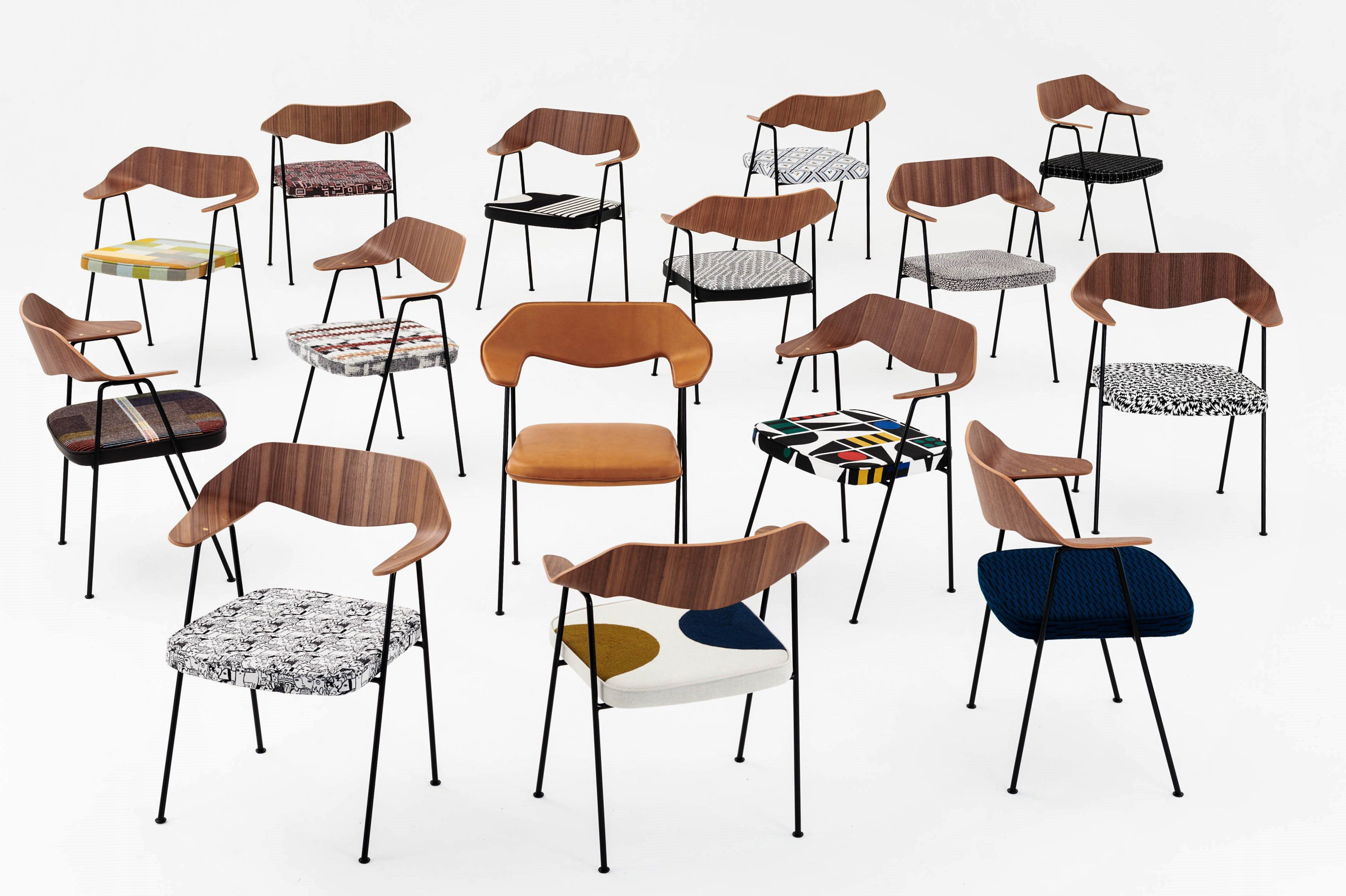 15 designers, 15 new versions of Robin Day's '675' chair, one exciting auction…