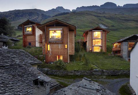 Peter Zumthor case in legno