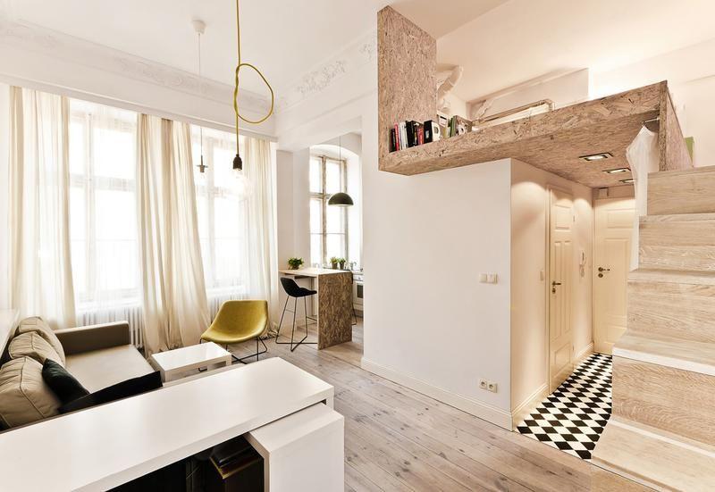 Case Piccole Da Sogno : Case piccole con soppalco da copiare per vivere in meno di mq