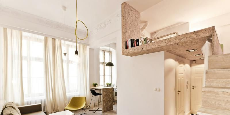 3 case piccole con soppalco da copiare per vivere in meno for Case piccole con soppalco