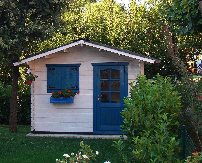 Caseta jardín prefabricada