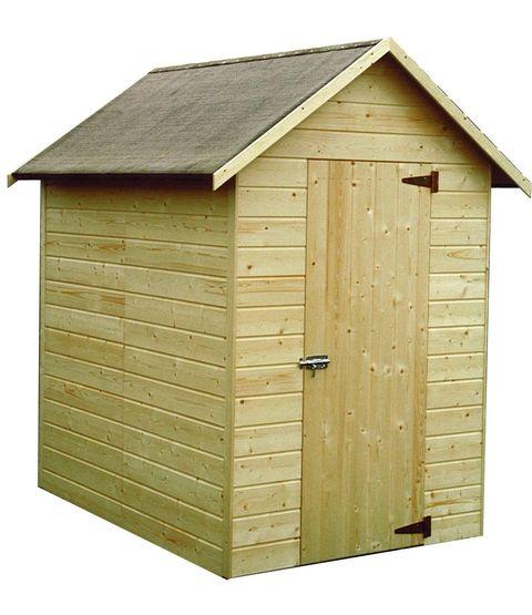 Caseta de madera panelada