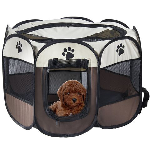 Caseta plegable para perro