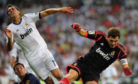 Iker Casillas - Álvaro Arbeloa