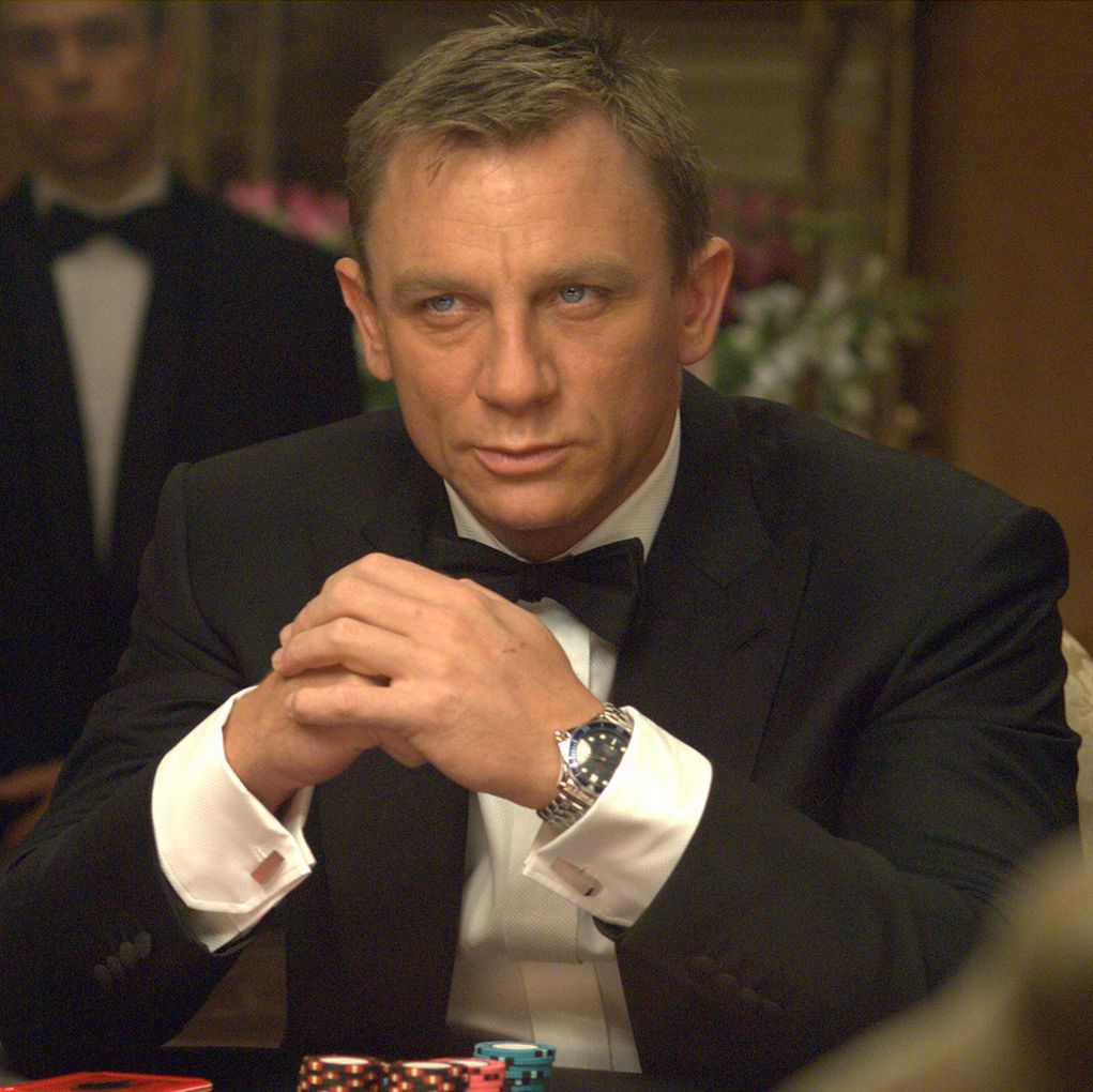 Casino Royale It's almost hard to believe that Daniel Craig's casting as a blond and blue-eyed James Bond was controversial, but his first outing as the iconic Agent 007 reignited the film franchise and brought a weighty seriousness to the character.