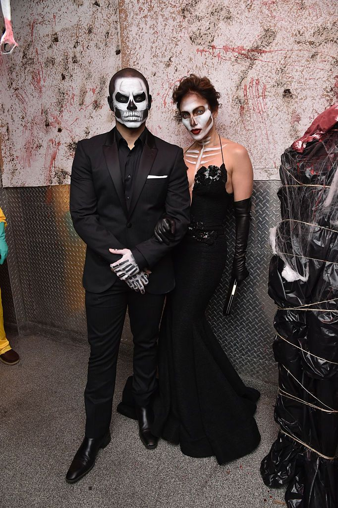 Jennifer Lopez and Casper Smart - Skeletons J.Lo and Casper Smart's romance died—just like their costumes suggested at Heidi Klum's 2015 Halloween party at Lavo nightclub in New York City.