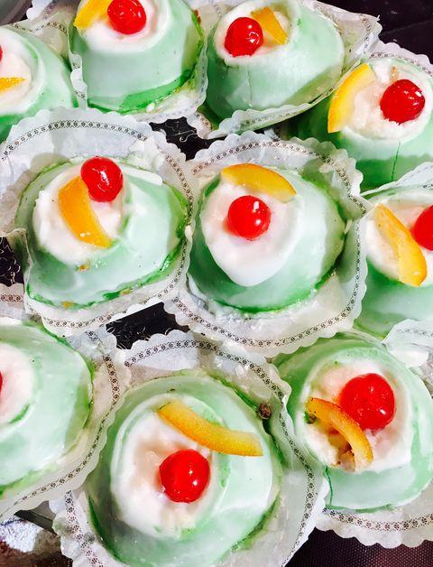 Food, Dish, Cuisine, Ingredient, Cupcake, Dessert, Finger food, Cassata, Baked goods, Canapé,