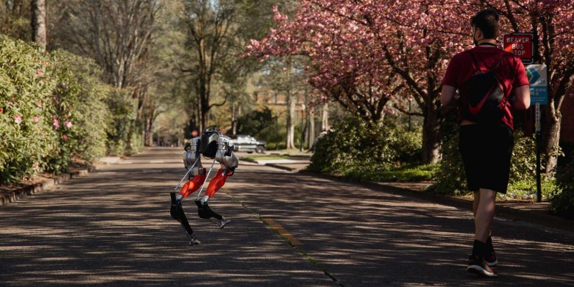 A robot just made history by running its first outdoor 5k