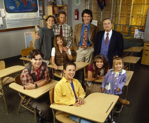 CLOCKWISE (FROM C): BEN SAVAGE;RIDER STRONG;WILL FRIEDLE;BETSY RANDLE;WILLIAM RUSS;ANTHONY TYLER QUINN;WILLIAM DANIELS;LILY NICKSAY;DANIELLE FISHEL