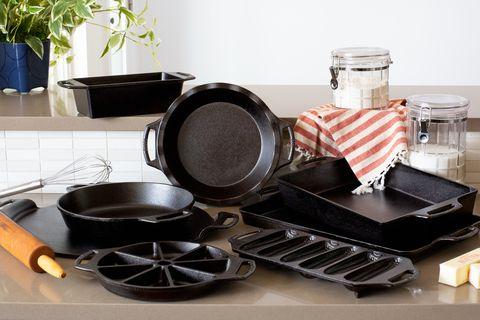 range of cast iron bakeware