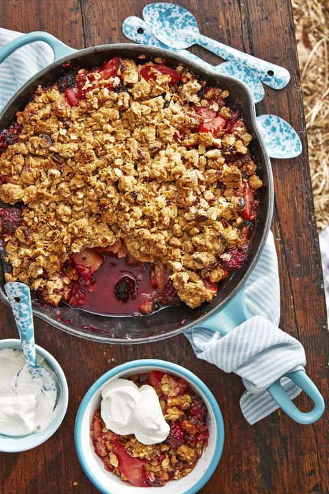 cast iron skillet recipes crumble