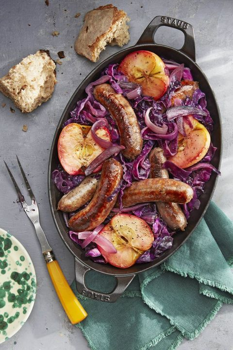 cast iron skillet recipes sausage