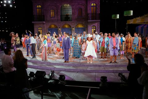 """shakespeare in the park's """"twelfth night"""" opening night"""