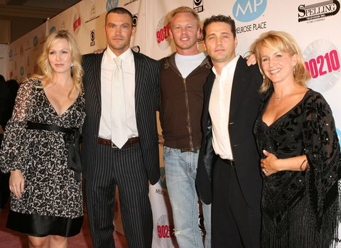 'Beverly Hills 90210' and 'Melrose Place' DVD Launch Party - Pink Carpet