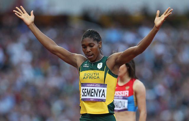 caster semenya, atleta sudafricana a la que han realizado pruebas de género