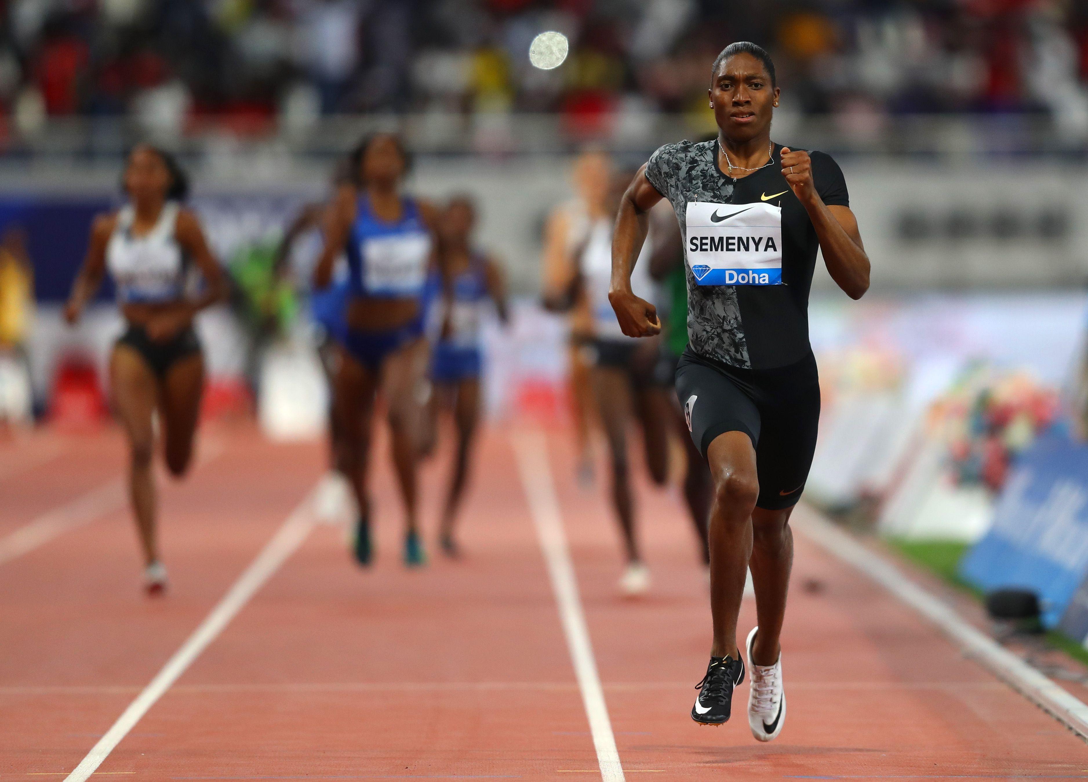 Caster Semenya Diamond League 800 Meters Win - IAAF