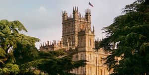 Castillo de Highclere en el que se rodó Downton Abbey