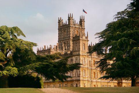 Castillo de Highclere en el que se rodó Downton Abbey