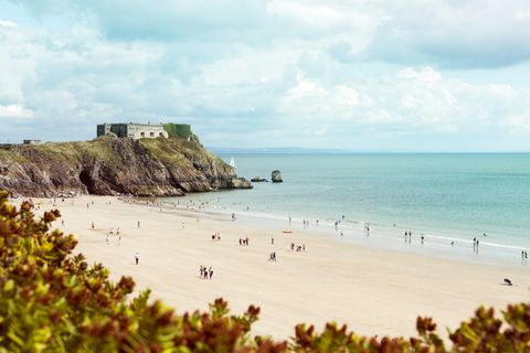 Britain's Beach Of The Year 2019 Has Been Named - Castle Beach in Tenby