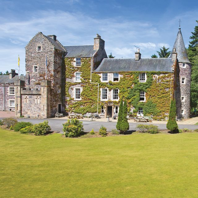imposing castle for sale in fife, scotland