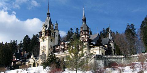 Castle from Sinaia, Romania